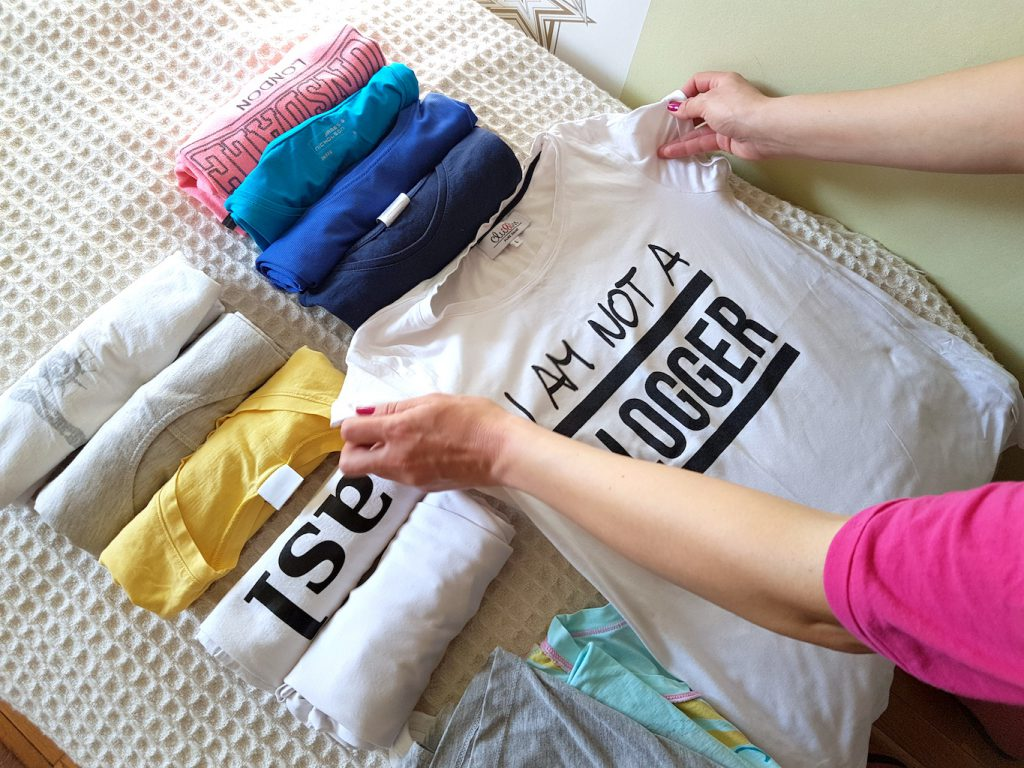 This is how to fold T-shirts the KonMari method