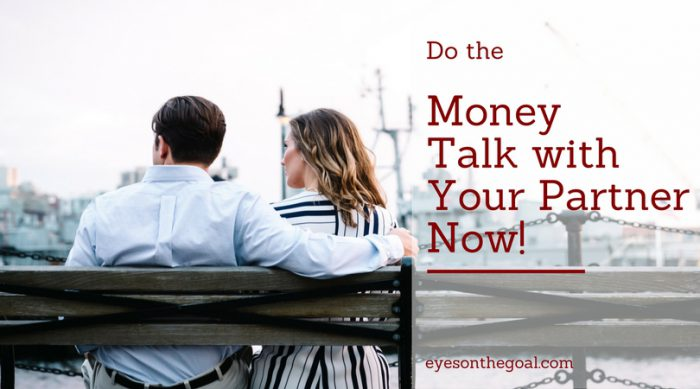 Do the Money Talk with Your Partner Now!