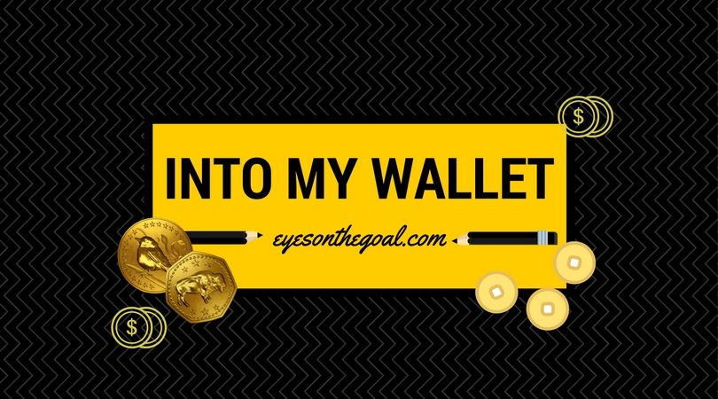 Make 'Into My Wallet' Your Motto