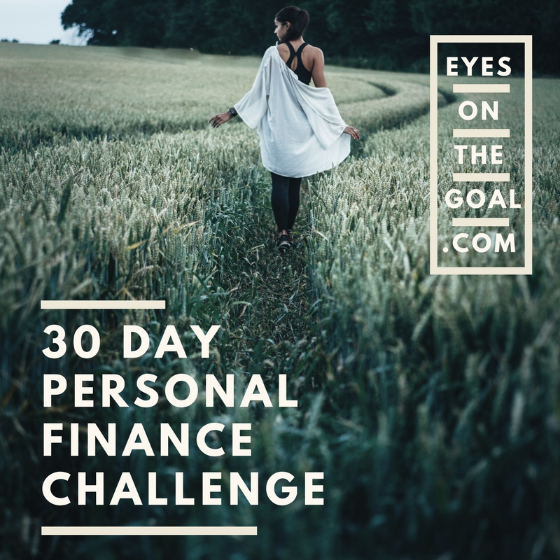 30 Day Personal Finance Challenge