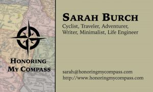Sarah Burch Business Card