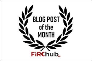 Firehub Blog post of the month