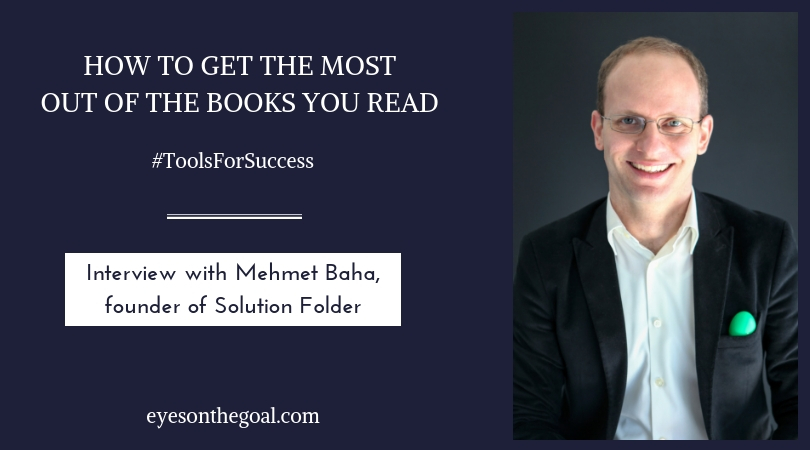 How to get the most out of the books you read - interview with Mehmet Baha
