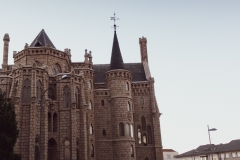 Episcopal Palace in Astorga - last stop of the journey
