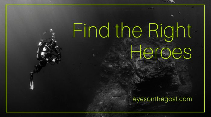 Find the right heroes