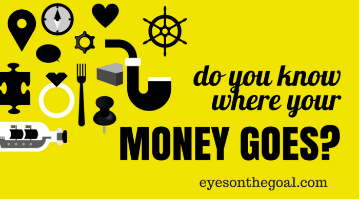 Do you know where your money goes?