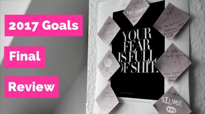 2017 Goals, Final Review