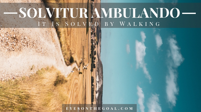 Solvitur Ambulando - It Is Solved by Walking