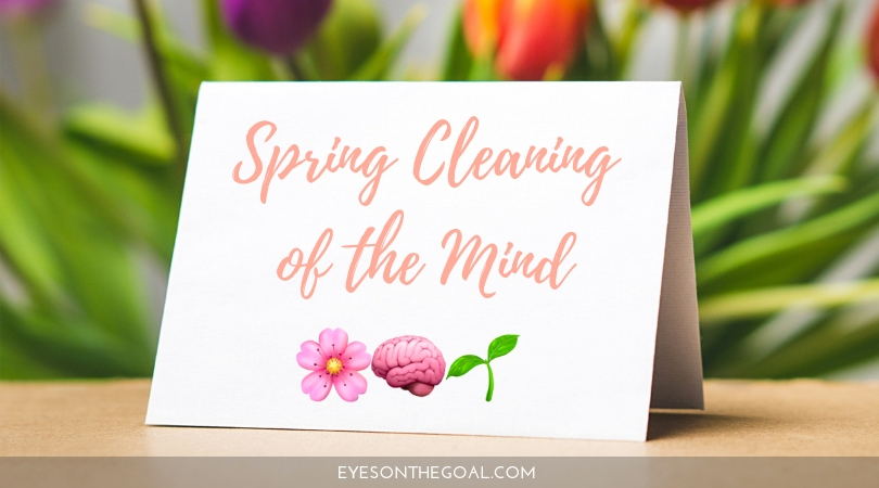 Spring Cleaning of The Mind