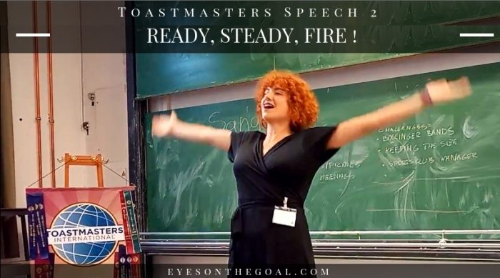 Toastmasters Speech 2 Kate App